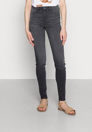 MEDIUM RISE - Jeans Skinny Fit - grey dark wash