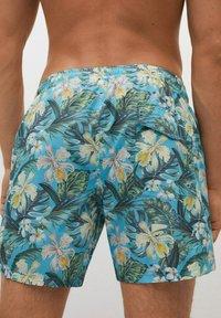 Mango - MIT HAWAII - Swimming shorts - blau - 4