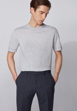 IMATTEO - T-shirt basic - open grey