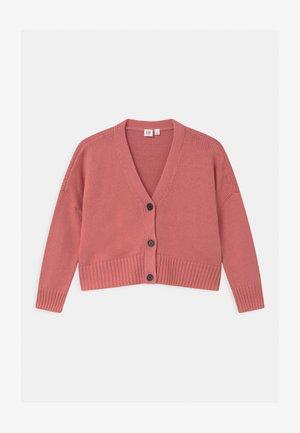 GIRL BOXY - Cardigan - potpourri pink