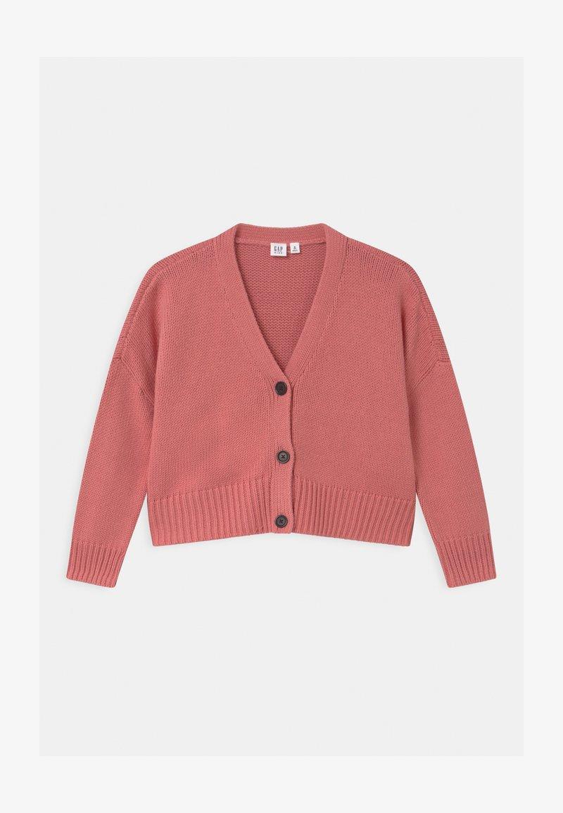 GAP - GIRL BOXY - Cardigan - potpourri pink