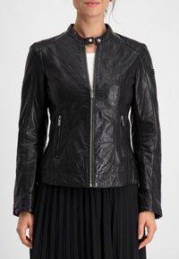 Milestone - Leather jacket - schwarz - 3