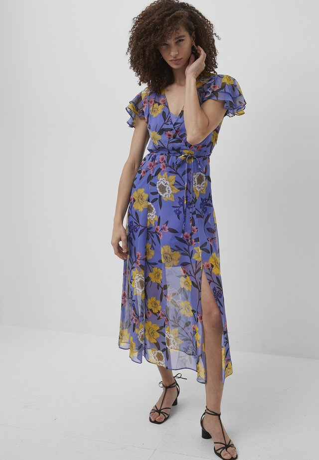 Day dress - bay blue multi