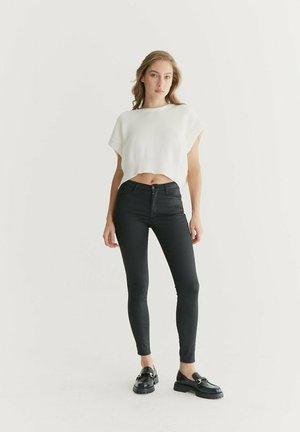 Jeans Skinny Fit - black coated