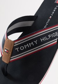 Tommy Hilfiger - LOGO TAPE BEACH  - Infradito - blue - 5