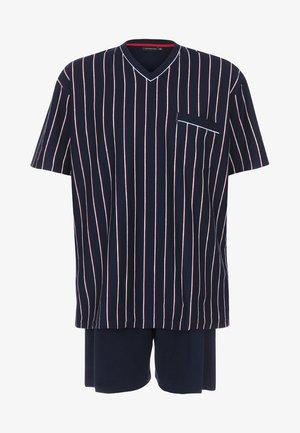 OPTICAL SET - Pyjama set - navy
