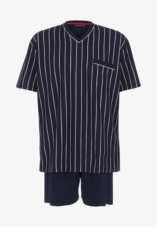 OPTICAL SET - Pyjama set - navy