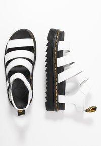 Dr. Martens - BLAIRE - Platform sandals - white hydro - 3