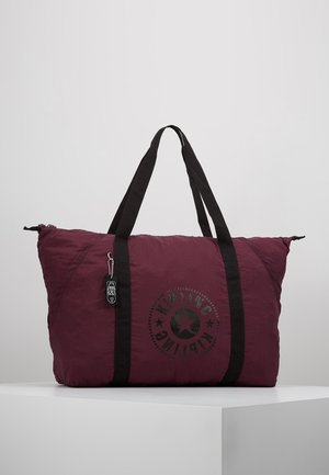 ART PACKABLE - Tote bag - plum light