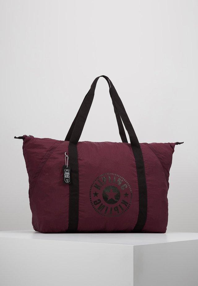 ART PACKABLE - Tote bag - plum light