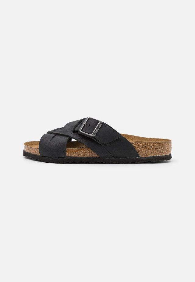 LUGANO UNISEX - Pantofle - camberra old black