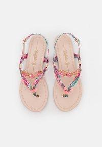 Buffalo - VEGAN REBECCA - T-bar sandals - pink - 4