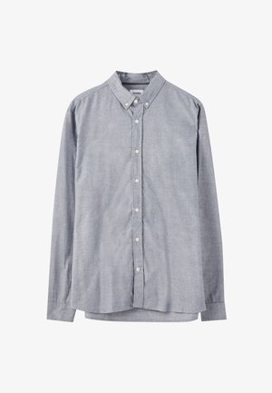 BASIC - Camicia - mottled light blue