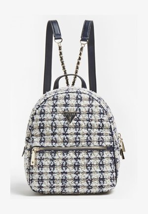 SAC A DOS CESSILY TWEED - Backpack - blanc multi