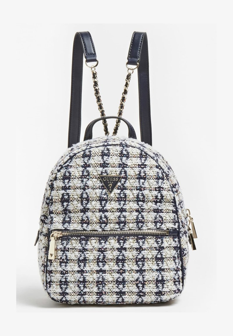 Guess - SAC A DOS CESSILY TWEED - Backpack - blanc multi