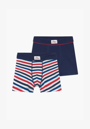 STRIPED 2 PACK - Pants - royal blue