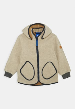 TONTTU NALLE UNISEX - Fleece jacket - pebble/navy