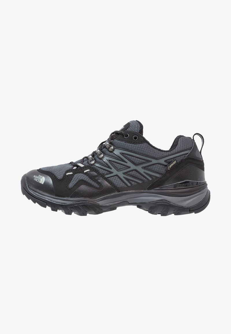 The North Face - HEDGEHOG FASTPACK GTX - Hiking shoes - black/high rise grey