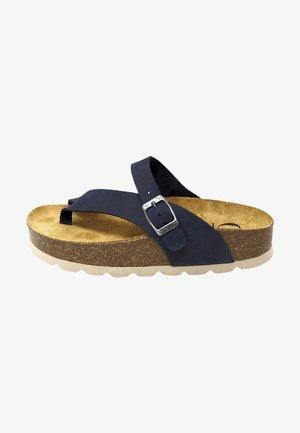 Sandalias de dedo - azul