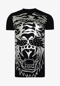 Ed Hardy - BIG-TIGER T-SHIRT - Print T-shirt - black - 3