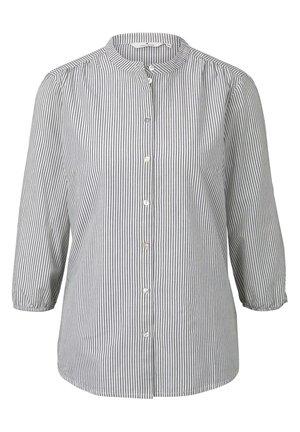 MIT MUSTER - Blouse - navy white horizontal stripe