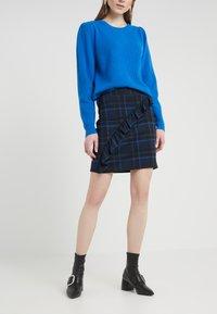 2nd Day - CAST MAXI - Mini skirt - crown blue - 0