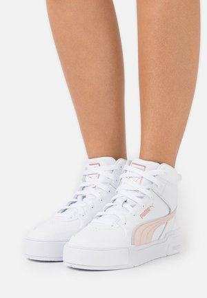 CALI SPORT TOP  - High-top trainers - white/cloud pink/rose gold