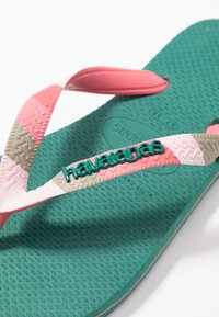 Havaianas - TOP VERANO - Klipklappere/ klip klapper - green leaf - 2