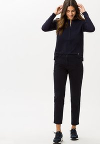 BRAX - STYLE CLARISSA - Long sleeved top - navy