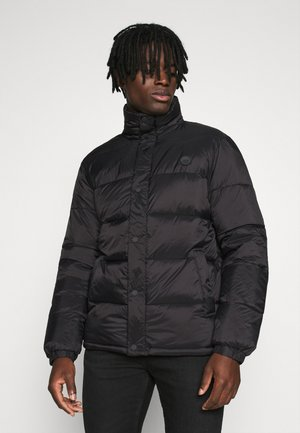 PUFFER JACKET - Winter jacket - black solid