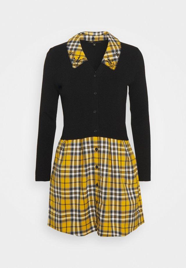 RIGITTE - Korte jurk - jaune