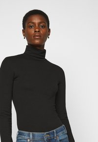 Even&Odd Tall - 2 PACK  - Long sleeved top - black - 4