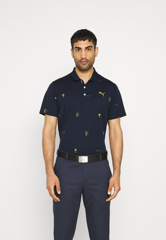 PALM TREE CREW EDITION - Poloshirt - navy blazer