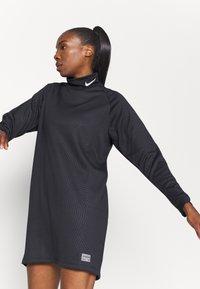 Nike Performance - FC DRESS - Sports dress - black/white - 4