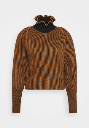 Maglione - black/brown