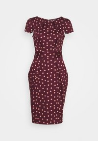 Closet - TULIP DRESS - Day dress - burgundy - 3