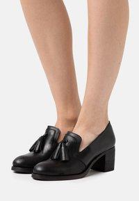 Anna Field - LEATHER - Classic heels - black - 0