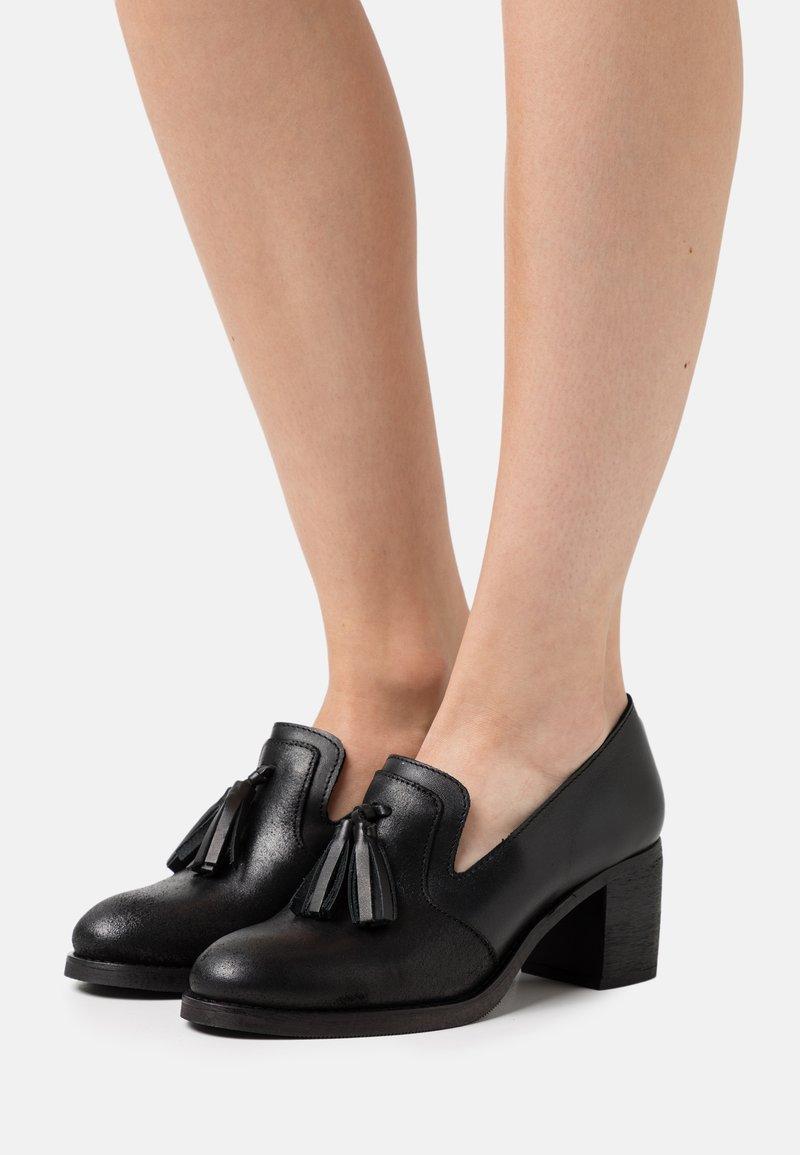 Anna Field - LEATHER - Classic heels - black