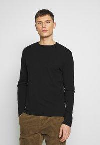 NN07 - CLIVE - Camiseta de manga larga - black - 0