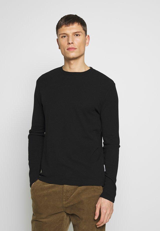 CLIVE - Langærmede T-shirts - black