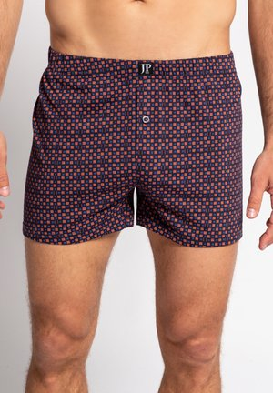 2 PACK - Boxer shorts - karo, nachtblau