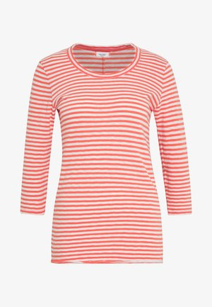 T-SHIRT, 3 4 SLEEVE, Y D STRIPE - Long sleeved top - multi/soft coral
