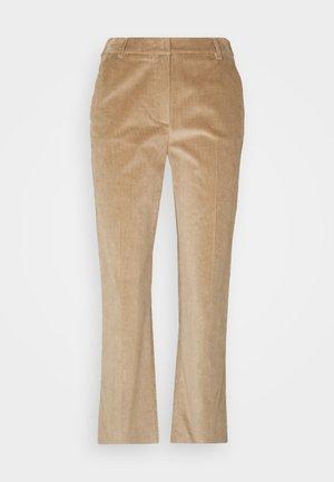 JORDAN - Spodnie materiałowe - kamel