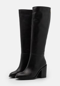 Tommy Hilfiger - LONG BOOT - Kozačky na vysokém podpatku - black - 2