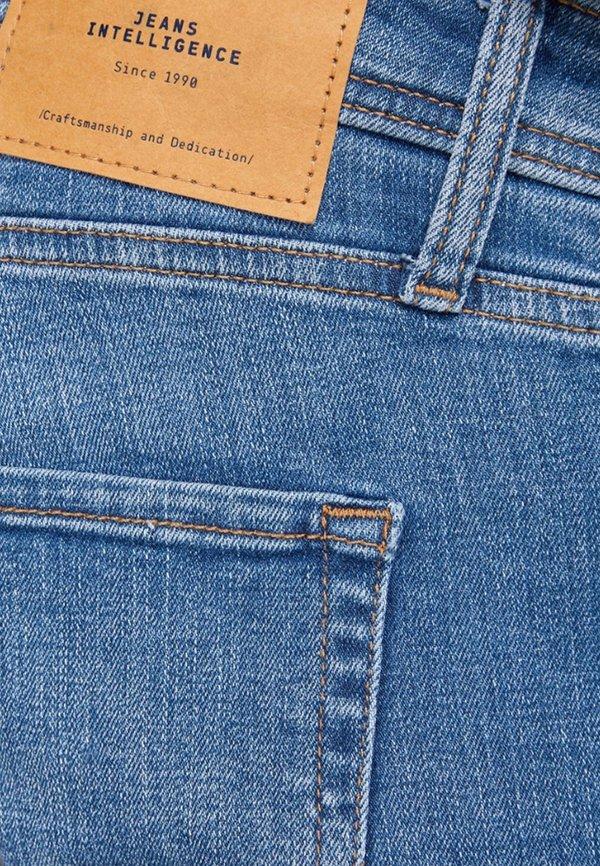 Jack & Jones TIM ORIGINAL - Jeansy Slim Fit - blue denim/niebieski denim Odzież Męska DWGV