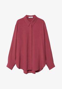 Mango - CEBRA-A - Button-down blouse - maroon - 5