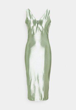LIBBY V NECK MIDI DRESS - Cocktail dress / Party dress - mint green
