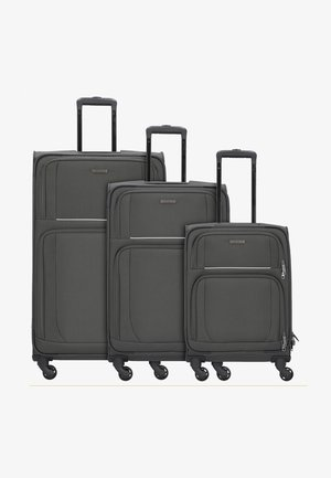 3  PACK - Luggage set - grey