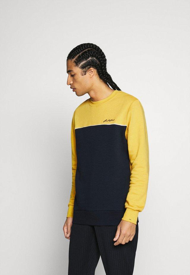 Sweatshirt - spicy mustard