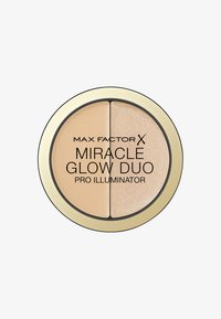 Max Factor - MIRACLE GLOW DUO HIGHLIGHTER - Highlighter - 20 medium - 0